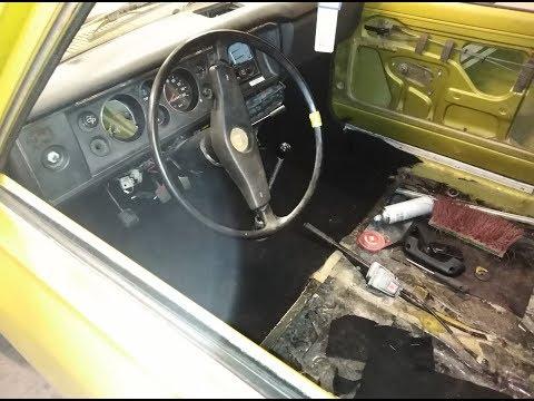 Äänieristeet Ja Uudet Matot Datsuniin - Datsun 100a Projekti / Osa 3