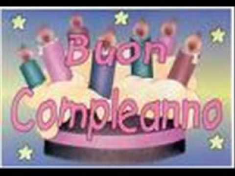 Favoloso Buon compleanno tonia - YouTube MG71