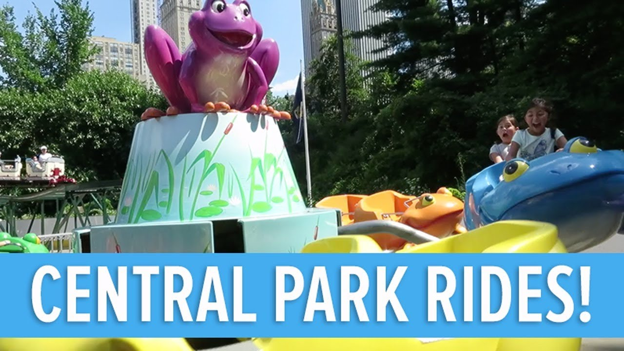 CENTRAL PARK RIDES FOR KIDS | VICTORIAN GARDENS NYC