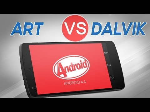 Android 4.4 KitKat  ART vs DALVIK RunTime + BenchMark | Nexus 4