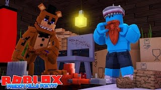 FREDDY FNAF STOPS FOXY ??? Sharky Gaming | Roblox