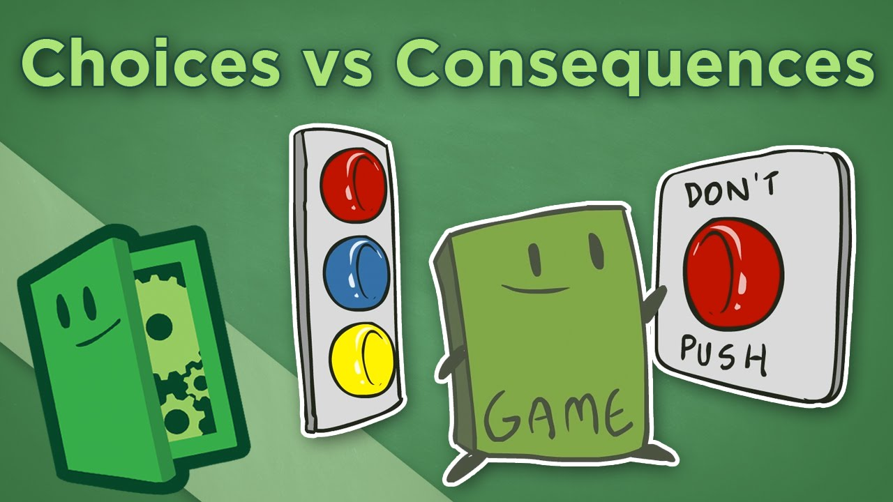 decision making choices consequences Learn the importance of decision making and the making decisions more difficult decisions, with consequences that lay more heavily on leaders and have a.