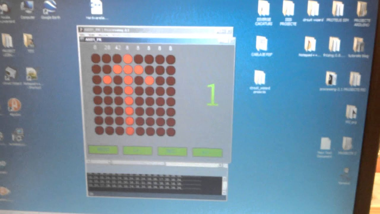 Arduino and Processing Synthesizer Simulator Building
