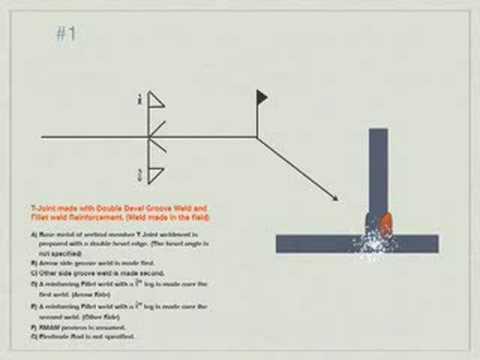 Welding blueprint reading Problem #1 - YouTube