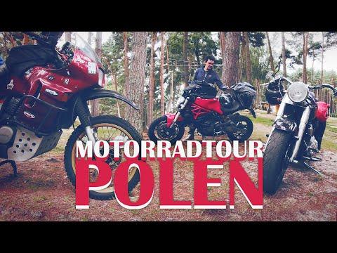 Motorradtour Polen | Mit Ducati, Harley & Honda durch Pommern
