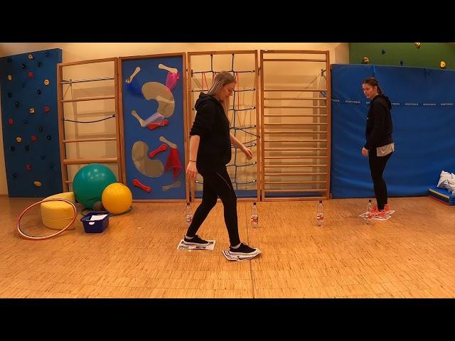 Eltern-Kind-Turnen Teil 4 mit Lilli und Jasmin