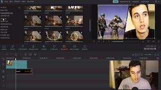 طريقة سهلة لعمل مونتاج فيديو بواسطة برنامج Filmora thumbnail