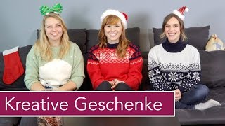 Kreative Geschenke – mit Liz und Jelena | NÄHMASCHINEN VERLOSUNG
