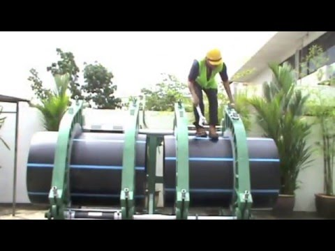 Máy hàn ống nhựa HDPE - TECNODUE - Cty Đồng Lợi P1