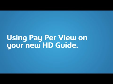 Pay Per View on the HD Guide I Shaw Direct Support & How To I Shaw Direct