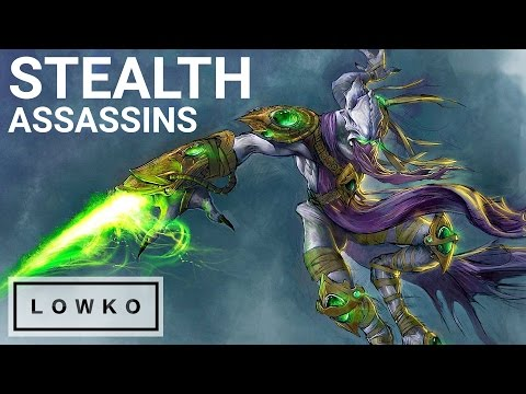 StarCraft 2 Cast: STEALTH ASSASSINS!