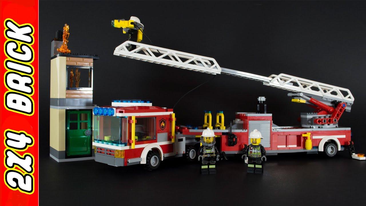 Lego City Fire Engine 60112 - 2016 - YouTube