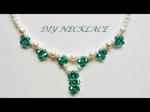 How to make beaded necklace in 10 minutes