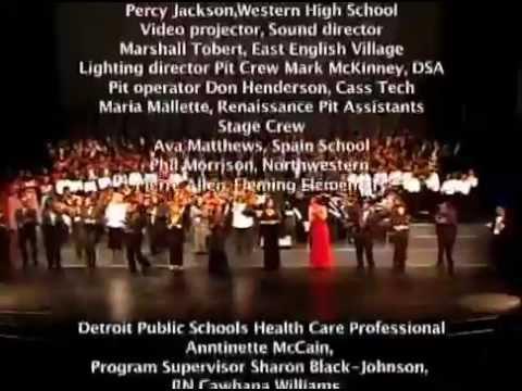 2014 An Evening of Fine Arts  Detroit Public Schools