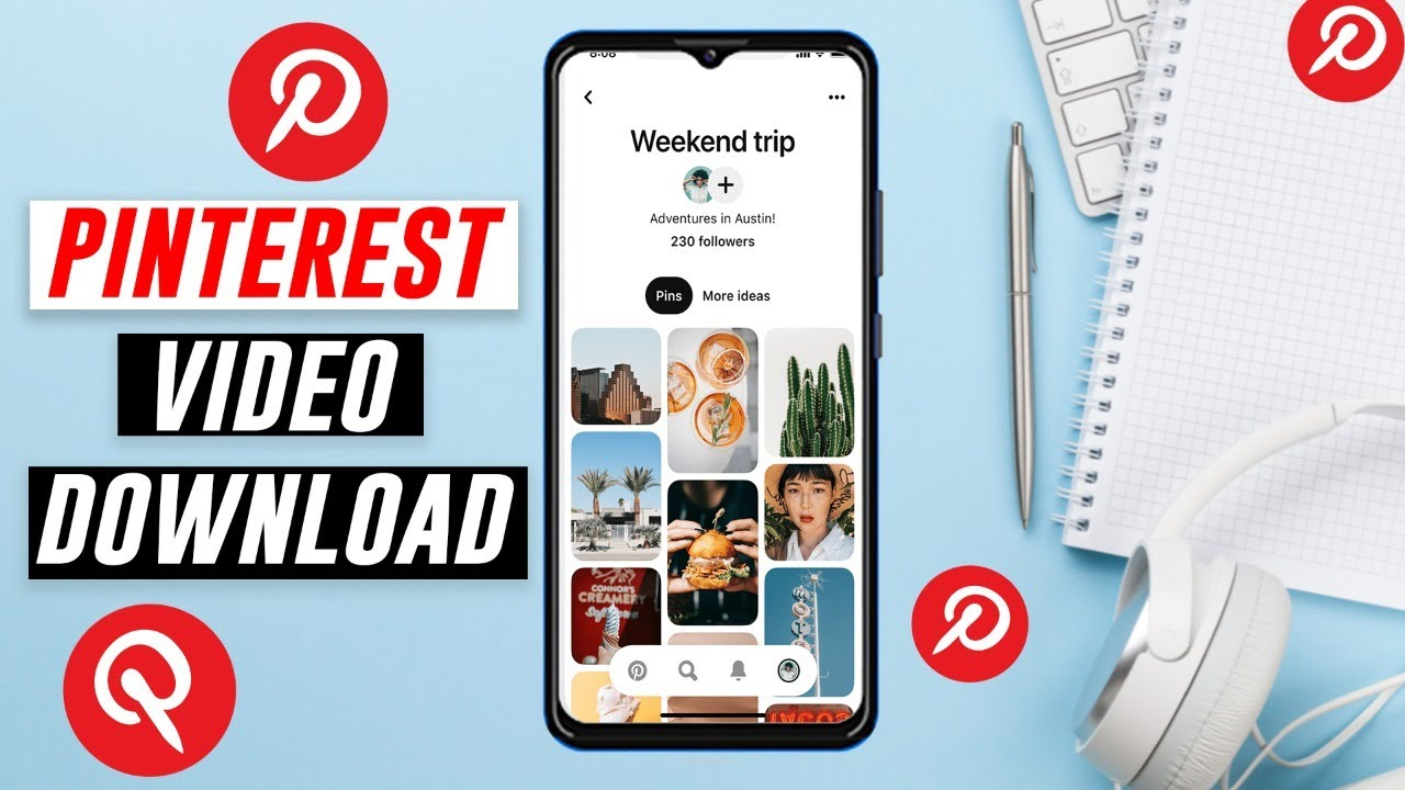 How to download videos from Pinterest   Pinterest video downloader ...