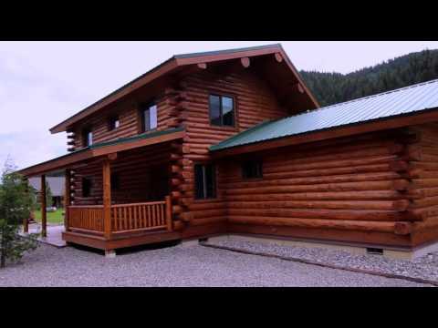 Original Pioneer & Montana Pioneer - Meadowlark Log homes