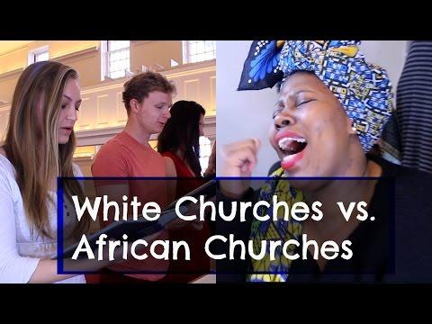 White churches vs African churches