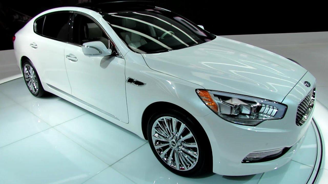 kia k900 2015 white. 2015 kia k900 v8 exterior and interior walkaround debut at 2013 la auto show youtube kia white