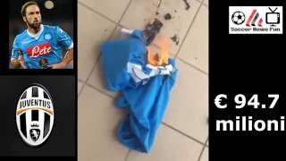 بالفيديو والصور.. جمهور نابولي ينتفض ضد هيجواين