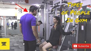 Types of People In Every Indian Gym