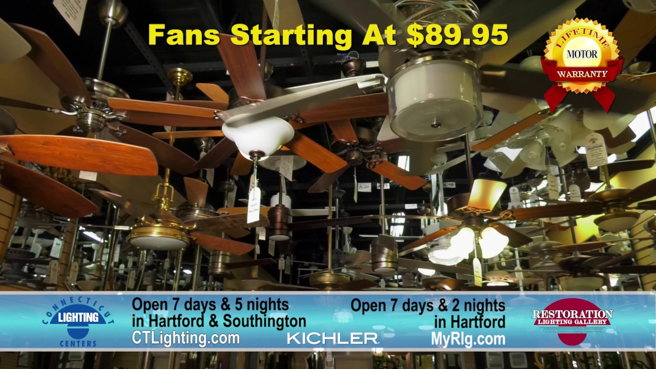 Ct Lighting Centers Kichler Fans