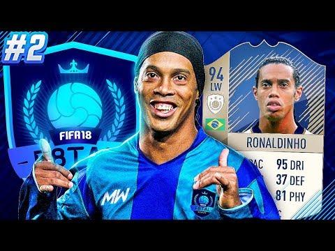 F8TAL PRIME RONALDINHO! SUPER TEAMS EVERYWHERE! - FIFA 18 ULTIMATE TEAM #2