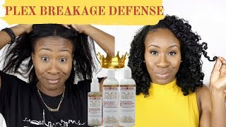 WASH DAY WITH PLEX BREAKAGE DEFENSE SYSTEM | RELAXED HAIR