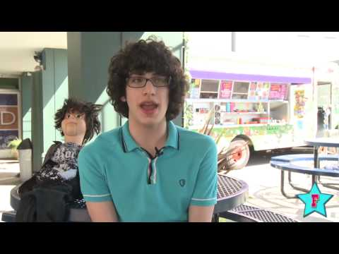 Matt Bennett Talks About Being on the Set of Victorious and Living in California