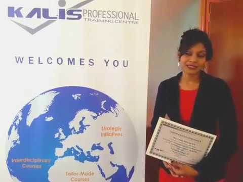 Kalis Professional Training Centre-Interview with our GTES Graduate