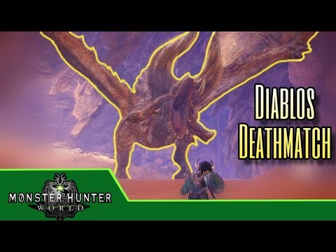 Monster Hunter World - Its Diablos Time! - My First Diablos Hunt - Ep.14 thumbnail