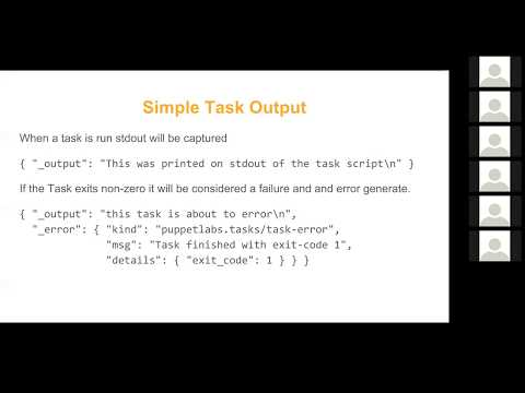 Virtual Puppet User Group: Introduction to Tasks