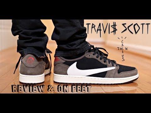 TRAVIS SCOTT JORDAN 1 LOW REVIEW