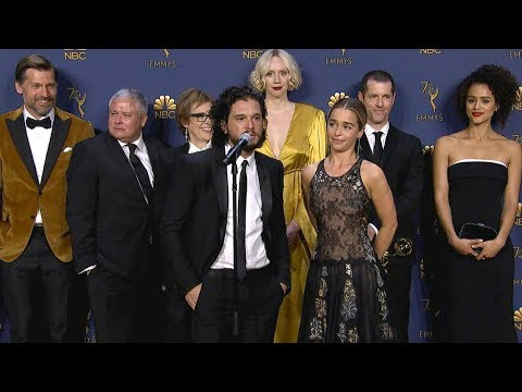 Emmys 2018: Game of Thrones Cast Backstage Full Press Conference