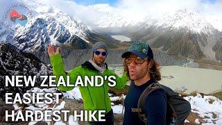 WHAT IS NEW ZEALAND'S EASIEST HARD HIKE | SEALY TARNS | AORAKI / MOUNT COOK | ADVENTURE HYDROLOGY