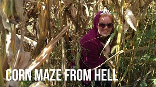 We Got Lost In A Corn Maze From Hell!