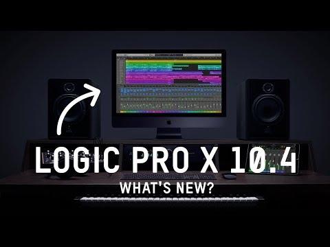 Logic Pro X 10.4 | What's New?