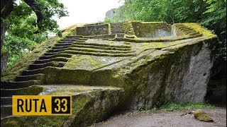 La Pirámide Etrusca de Bomarzo Italia