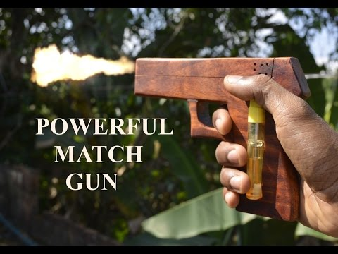 How to Make a Match Gun. from YouTube · Duration:  3 minutes 37 seconds