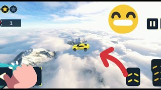You can fly??!? Taxi Car Stunts: Taxi Car Driving Levels Completed - Android GamePlay 3D