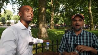 Speakers Corner - Godwin and Hashim discuss the Trinity