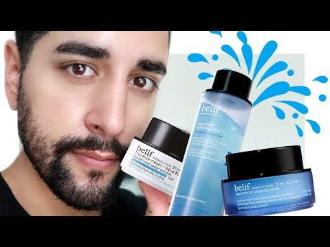 Glass Skin In A Tub - Belif Aqua Bomb Brand Review #AD✖  James Welsh