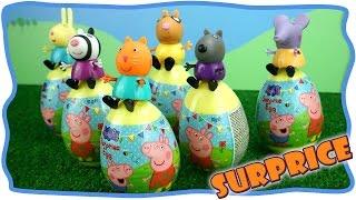 Яйца с сюрпризом. Открываем и рассматриваем Surprices