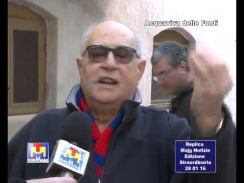 Majg Notizie - Acquaviva delle Fonti - via Lacorte: i residenti su tutte le furie! 28 01 2016