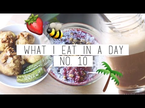 What I Eat In A Day #10 ☯ VEGAN + EASY | chanelegance