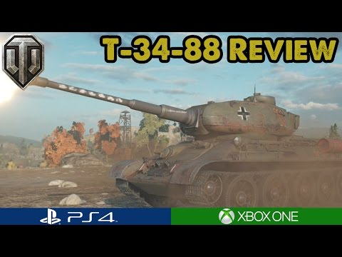 WoT - T-34-88 REVIEW! - Is it worth it? (Xbox/PS4)