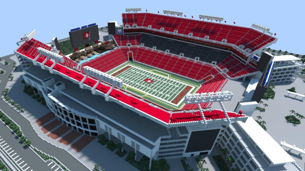 Minecraft Raymond James Stadium Tampa Bay Buccaneers Download Youtube