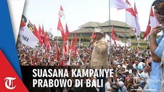 Suasana Kampanye Prabowo di Bali