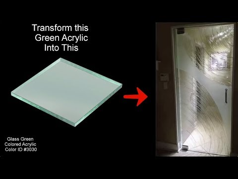 How To Make A Frameless Shower Door From Sheet Of Acrylic