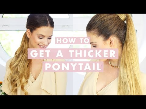 3 Ways To Wear a Ponytail with Hair Extensions