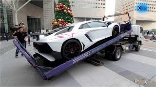 Best Truck Delivery of Lamborghini Aventador LP750-4 SV